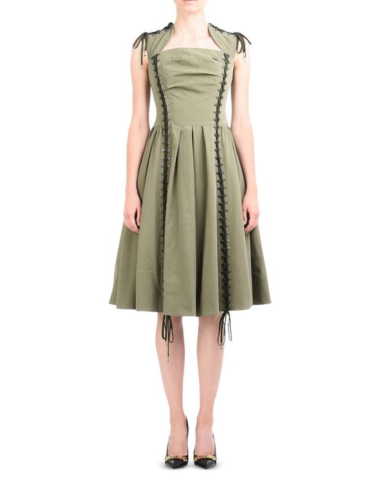 3/4 length dress Woman MOSCHINO