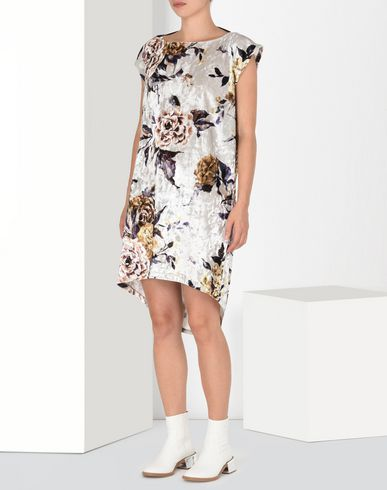 MM6 MAISON MARGIELA Short dress D Printed velvet T-shirt dress f
