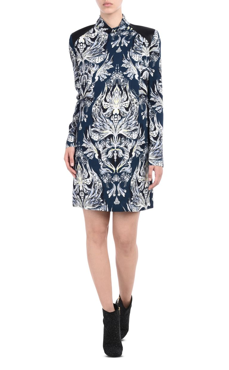 JUST CAVALLI Short high-neck dress Dress Woman f