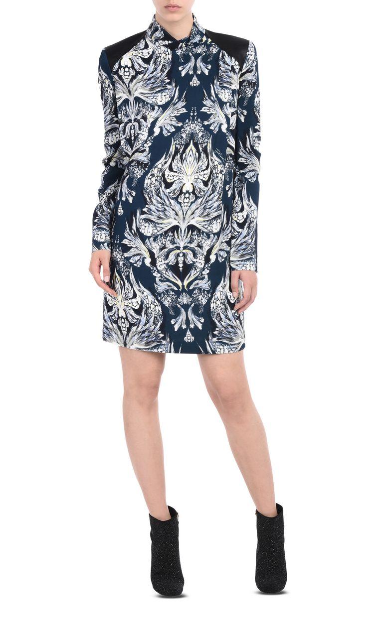 JUST CAVALLI Short high-neck dress Dress Woman r