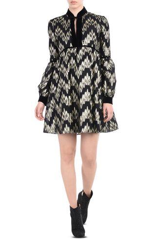 JUST CAVALLI Dress D Short high-neck dress f
