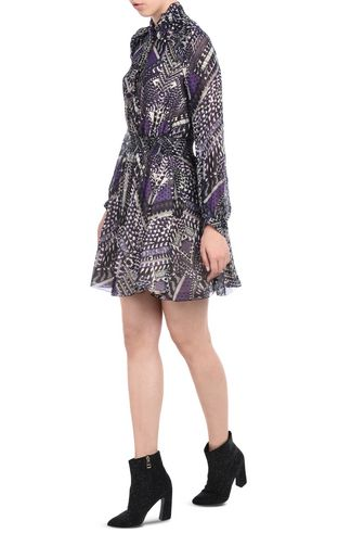 JUST CAVALLI Dress D Korean collar dress r