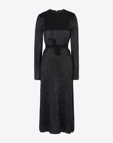 MAISON MARGIELA Long dress D Belted lining dress f