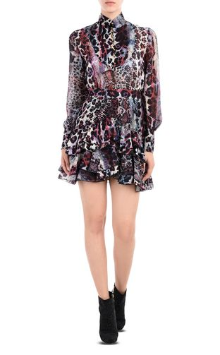 JUST CAVALLI Dress D High-neck short dress f