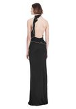 ALEXANDER WANG GOWN WITH ASYMMETRIC BALL CHAIN FLOUNCE 长款连衣裙 Adult 8_n_d