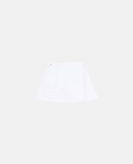 White Barricade Skirt