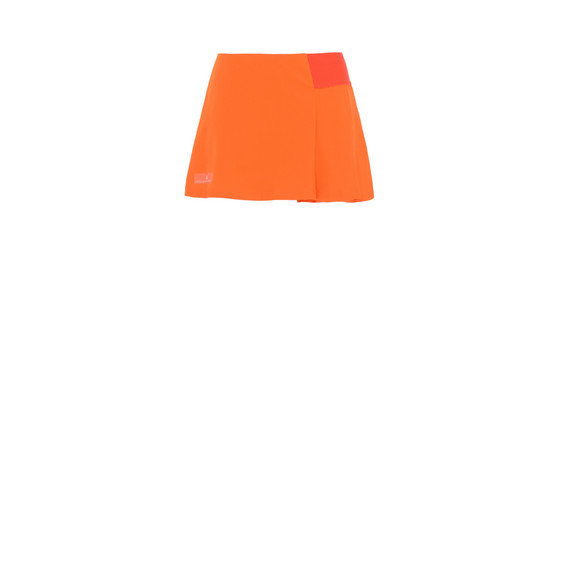 Orange Barricade Skirt