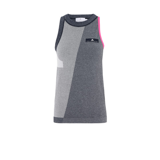 Grey Barricade Tank Top