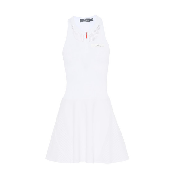 White Barricade Dress