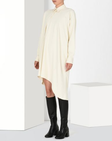 MM6 MAISON MARGIELA Asymmetric shirt dress Short dress D f