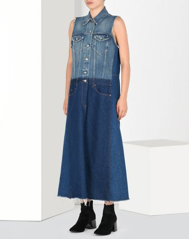 MM6 MAISON MARGIELA Long dress D Ankle-length denim dress f