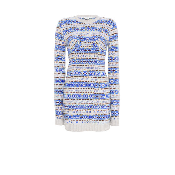 Fairisle Crew Neck Dress