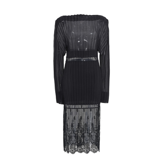 Carey Pleated Dress