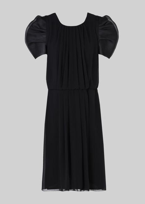 SILK GEORGETTE PRINCESS DRESS
