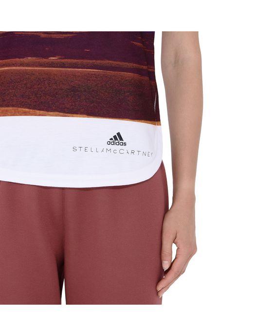ADIDAS by STELLA McCARTNEY Print Essential Logo Top adidas Topwear D p