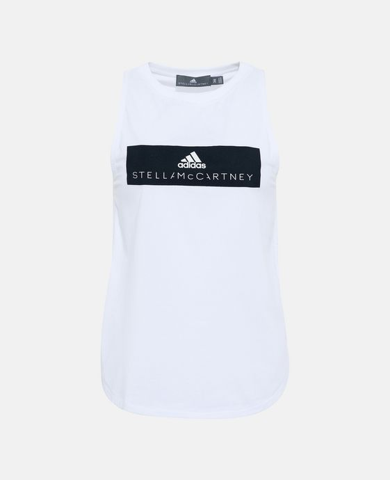 White Essential Logo Tank