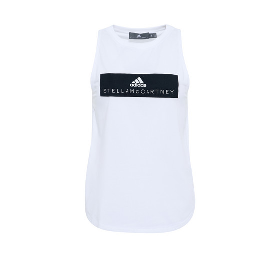 White Essential Logo Tank