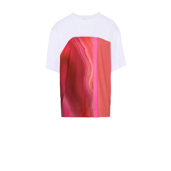 T-shirt Essential rouge imprimé
