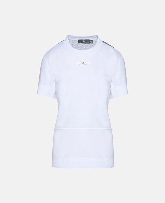 白色 Running 上衣