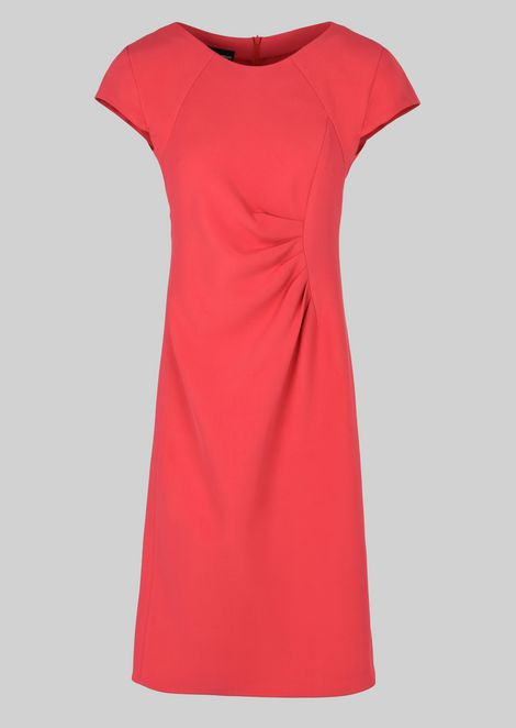 SILK BLEND SHEATH DRESS