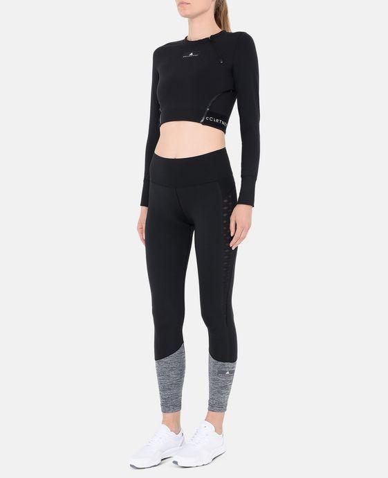 ADIDAS by STELLA McCARTNEY Black Cropped Training Top adidas Topwear D h