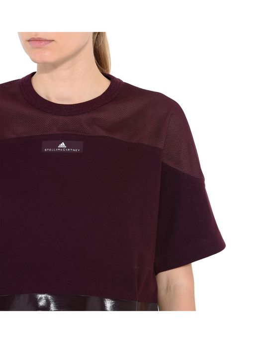 ADIDAS by STELLA McCARTNEY Red Essential Cropped Top adidas Topwear D p