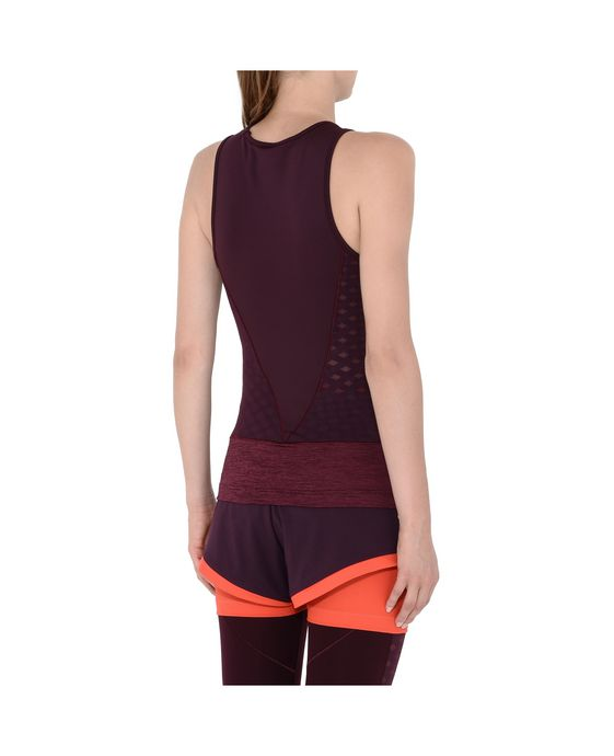 ADIDAS by STELLA McCARTNEY Red Training Tank adidas Topwear D g