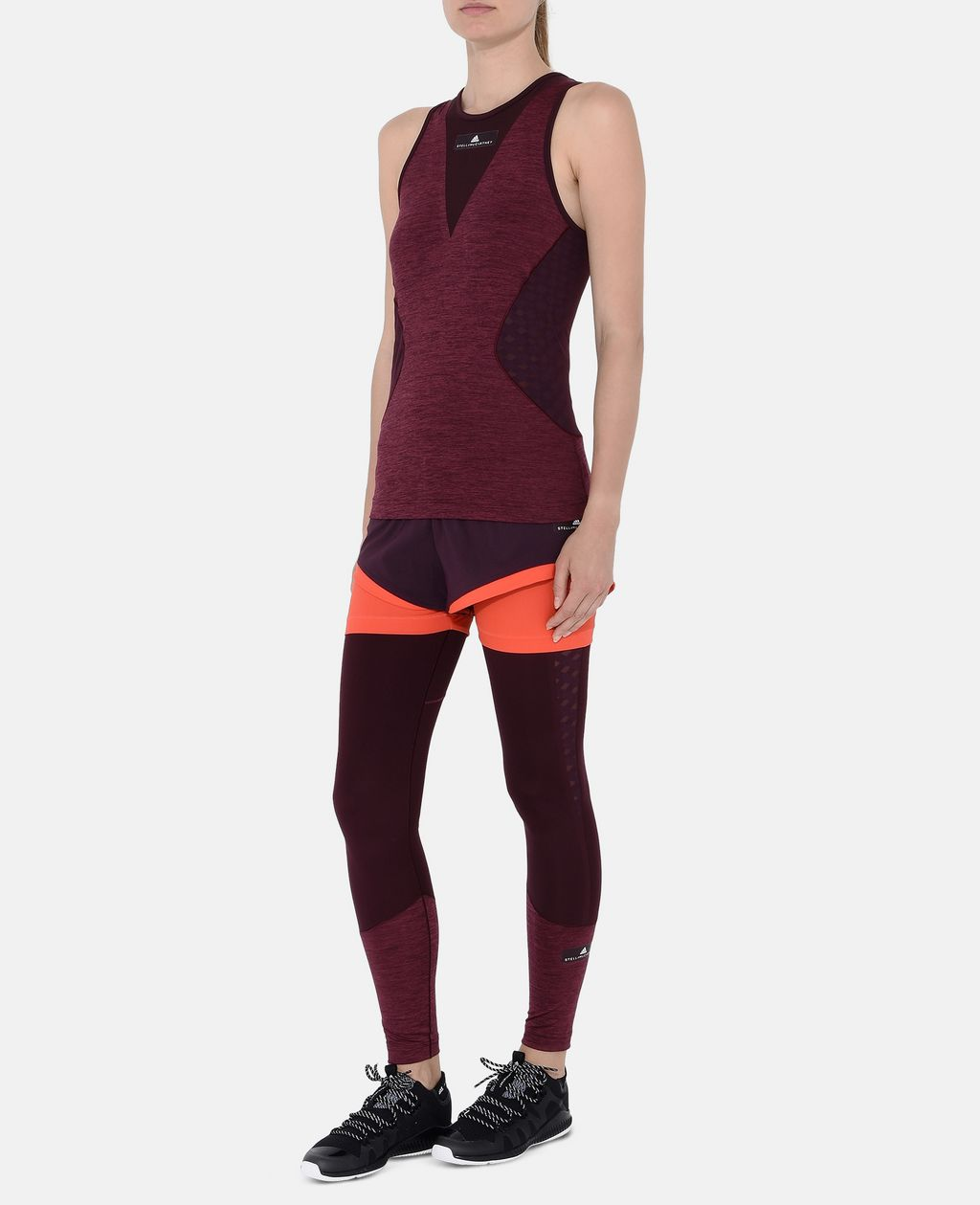 Red Training Tank - ADIDAS by STELLA McCARTNEY