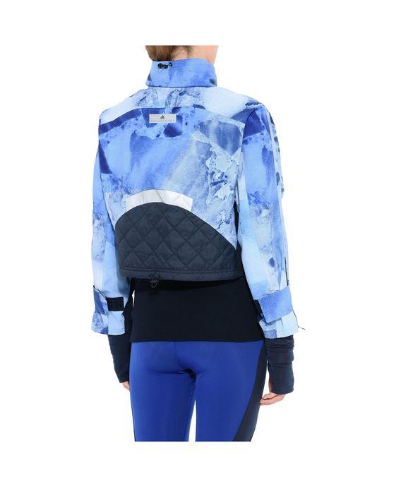 ADIDAS by STELLA McCARTNEY Blue Print Running Jacket Running Jackets D g