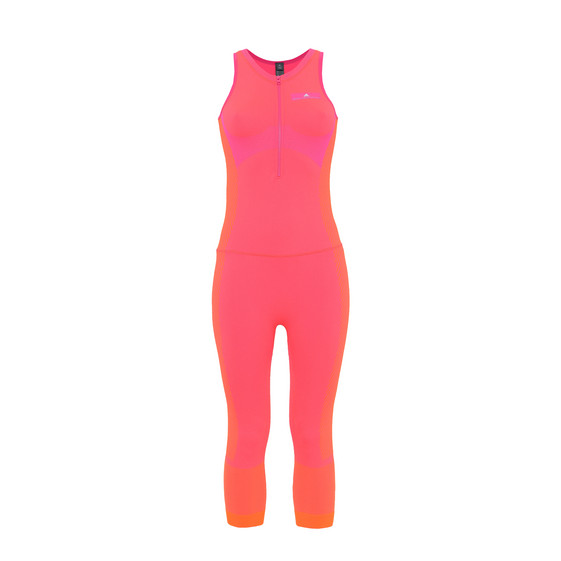 Pink Seamless Yoga All-In-One