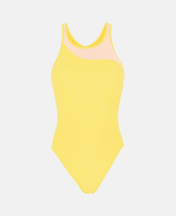 Yellow Performance Swimsuit