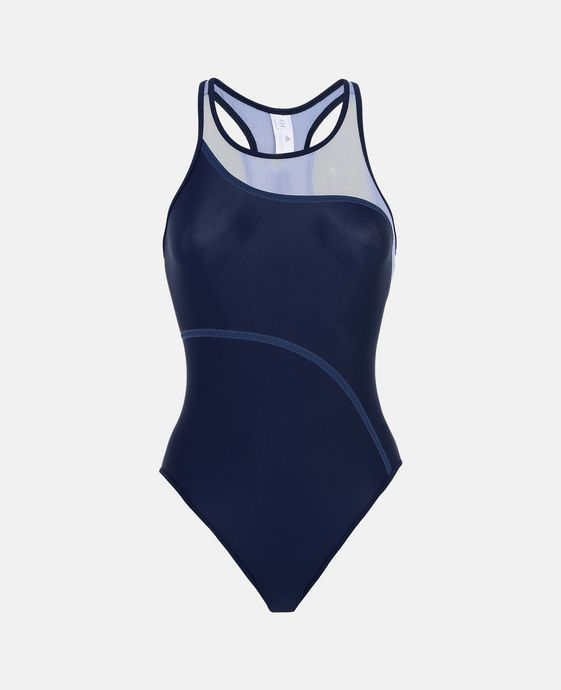 Blue Performance Swimsuit