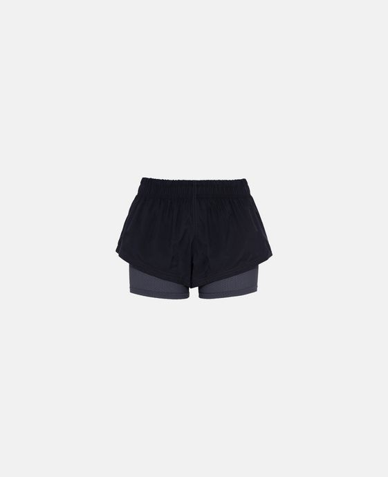 Gray Running 2-in-1 Shorts