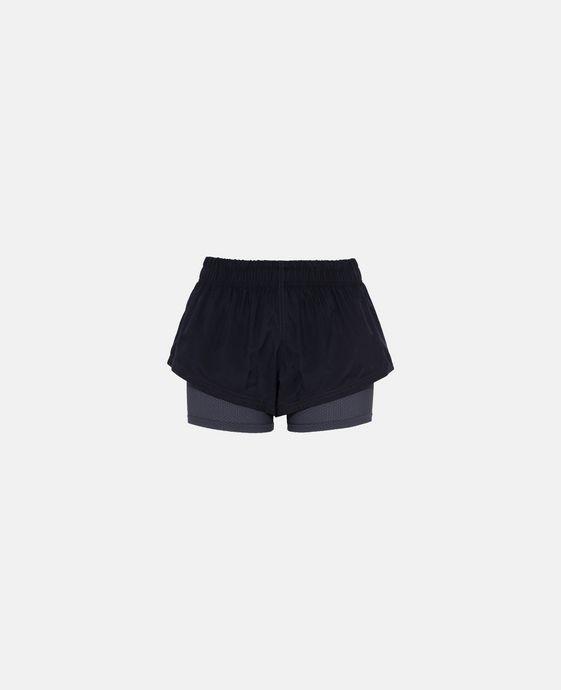 灰色二合一 Running 短裤