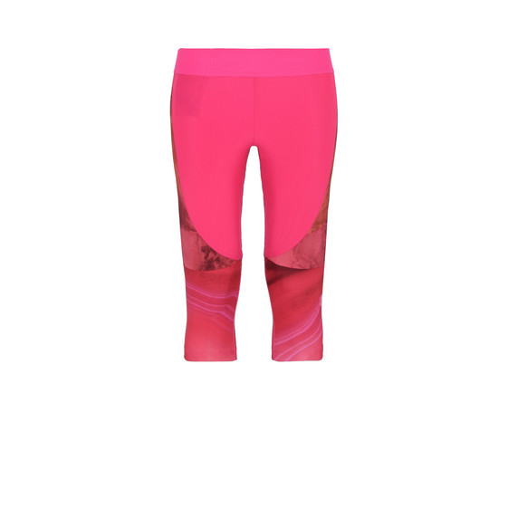 Pink Running 3/4 Tights