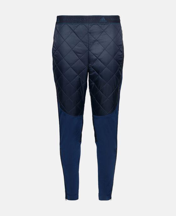 Blue Essential Moto Pants