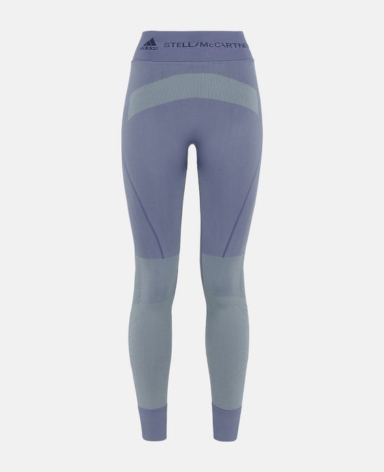 Purple Seamless Yoga Tights