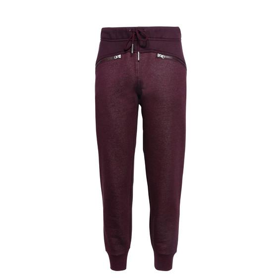 红色 Essential 运动裤