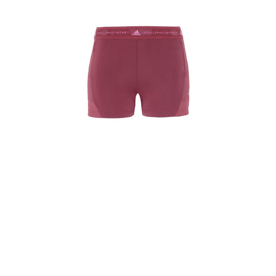 Short de yoga chaud rouge