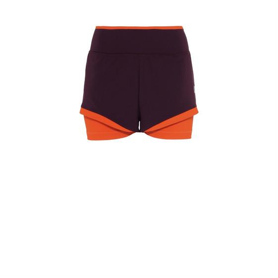 Red Training Shorts