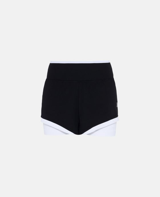 Black Training 2in1 Shorts