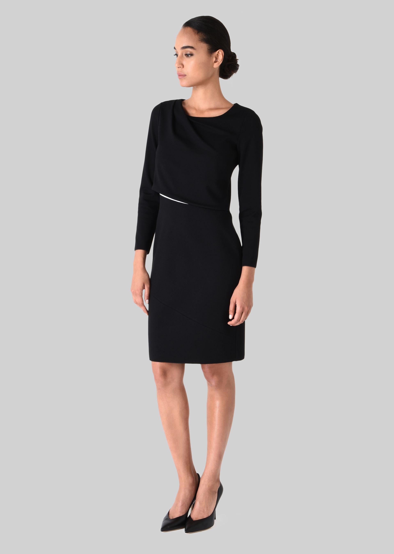 GIORGIO ARMANI STRETCH JERSEY PRINCESS DRESS Dress D d