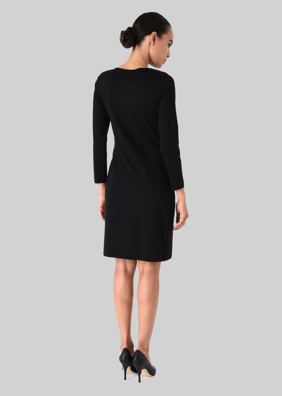 GIORGIO ARMANI STRETCH JERSEY PRINCESS DRESS Dress D e