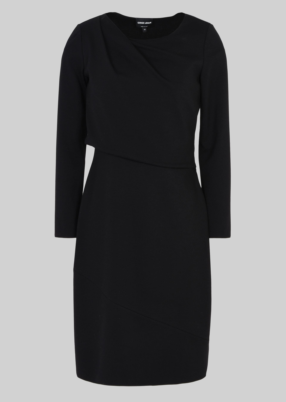 GIORGIO ARMANI STRETCH JERSEY PRINCESS DRESS Dress D r