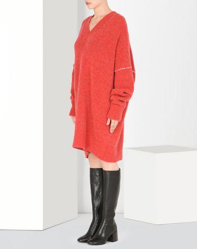MM6 by MAISON MARGIELA Short dress D Oversized V-neck sweater dress f