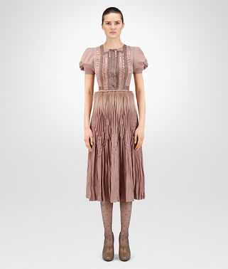 DESERT ROSE CRÊPE DE CHINE DRESS