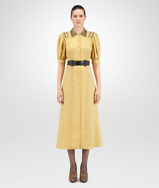 DUCHESSE SILK LUREX DRESS