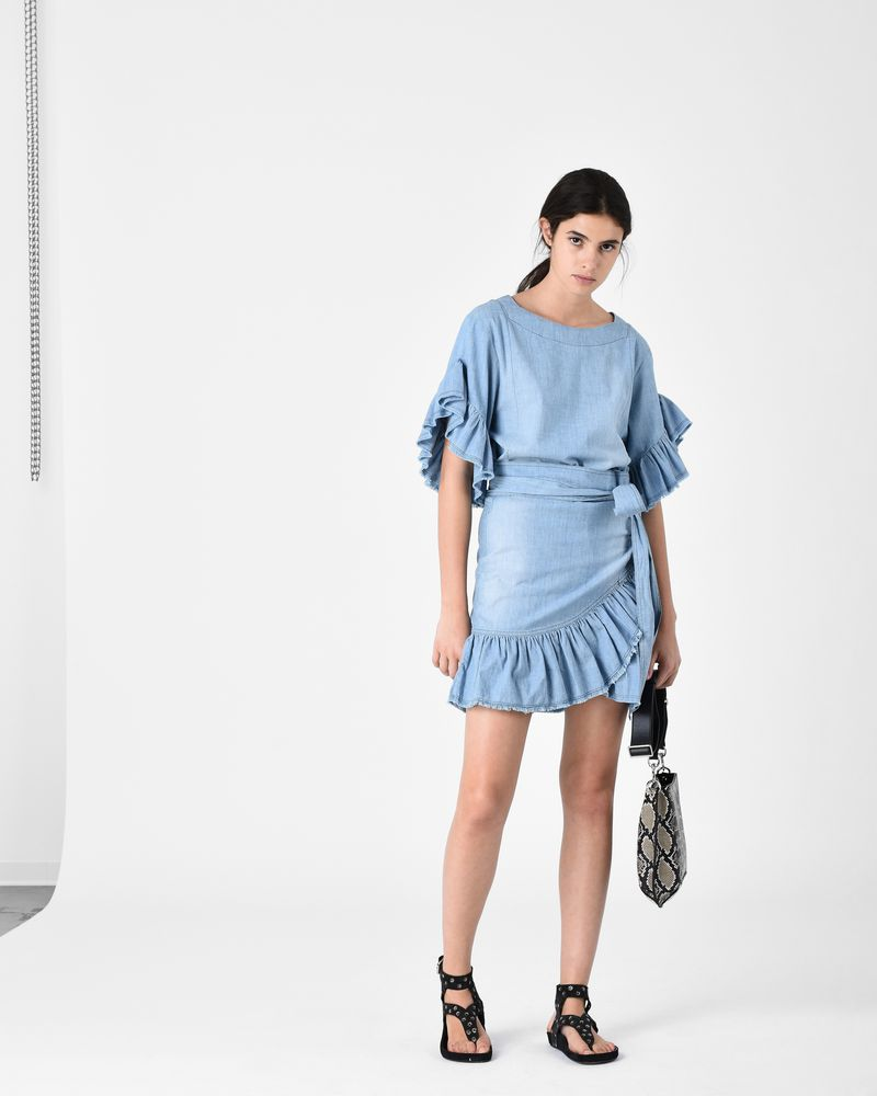 LELICIA chambray dress ISABEL MARANT ÉTOILE