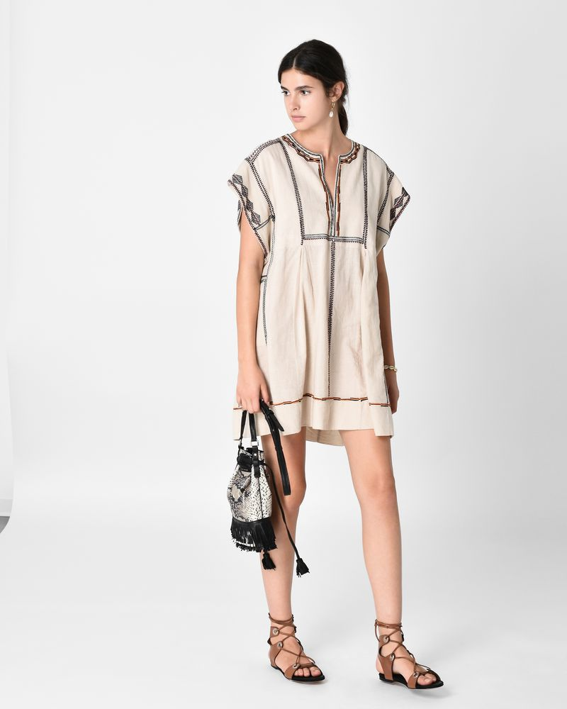 BELISSA short embroidered dress ISABEL MARANT ÉTOILE