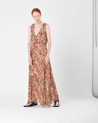 FLESSY long floral dress